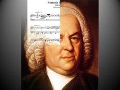 J.S.Bach - Fantasia in G minor BWV 917 - Santino Cara