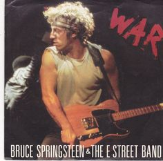 """Bruce Springsteen War / Merry Christmas Baby / 7"""" Vinyl 45 RPM Record & Picture Sleeve #BruceSpringsteen #Music"""