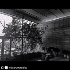 """#Repost from @eduardoarobles. The ASU Art Museum tour of Architect Eddie Jones' work is happening tomorrow.  Had a wonderful tour of Eddie Jones's house """"The Johnson-Jones Residence"""" designed by #jonesstudio in preparation for the ArtArchitecture Tour which is being sponsored by #AsuArtMuseum on Saturday April 9th.  #architecture #design #azarchitecture #az360 #azcollective #instagramaz #asudesignschool #bnw #blackandwhite #blackandwhitephotography #bnwphotography #rammedearth"""