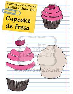 ¿Qué tal quedará el cupcake? ¡Pues muy bien!