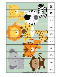Preschool Both Teach Numbers … Preschool Learning Activities, Preschool Worksheets, Kindergarten Activities, Toddler Activities, Preschool Activities, Kids Learning, Preschool Jungle, Numbers Preschool, Learning Numbers