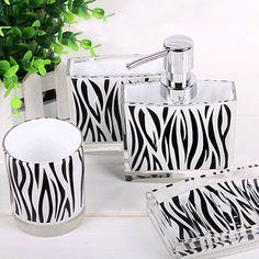 Minnie Mouse Zebra Bathroom For The Girls