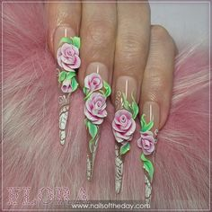 Manicure acrylic #23864