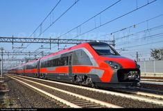 Net Photo: 4810 Trenitalia / at Anzola dell'Emilia, Italy by Beppe Diesel, Italy Train, Japan Train, High Speed Rail, Rapid Transit, Road Train, Electric Train, Rolling Stock, Trains