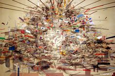 Paintings by Julie Mehretu: Juxtapoz-JulieMehretu04.jpg