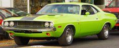 Gorgeous green 1970 Dodge Challenger