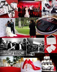 Vegas theme wedding decorations lucky in love your las vegas casino wedding theme red carpet wedding bring vegas to us junglespirit Images