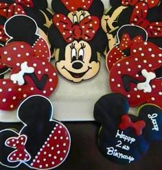 Galletas de Minnie Mouse