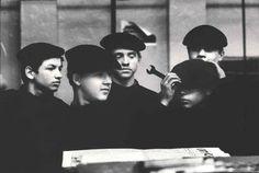Monique Jacot, Lehrlinge, Moskau 1968.© Pro Litteris / Fotostiftung Schweiz