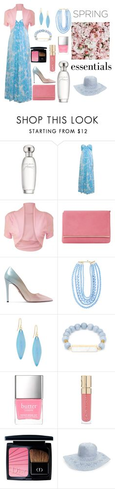 """spring essentials"" by noviandri-ronal ❤ liked on Polyvore featuring beauty, Estée Lauder, Givenchy, WearAll, Dune, Prada, BaubleBar, Alexis Bittar, Elise M. and Smith & Cult"