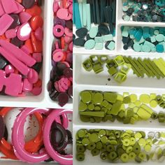 In my studio I have my 'colour drawers'. This is where I keep the resin units once they have set in the silicone moulds. They live here until I'm ready to decide which next colour or pattern they need. Silicone Molds, Resin, Colours, Etsy Shop, Contemporary, Instagram Posts, Drawers, Pattern, Crafts