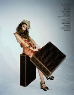 One day, I want to own Louis Vuiton luggage.