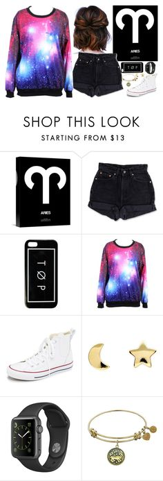 """""""Untitled #241"""" by l-have-secrets ❤ liked on Polyvore featuring Levi's, Converse and Erica Weiner"""