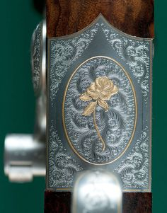 Custom Dan'l Fraser Sidelever Falling Block Rifle 6.5x57R Engraved by Sam Welch