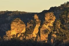 The Three Sisters, Blue Mountains National Park, New South Wales, Australia