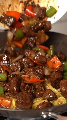 Asian Recipes, Beef Recipes, Cooking Recipes, Healthy Recipes, Beef Dishes, Food Dishes, Good Food, Yummy Food, Tasty