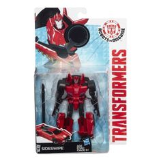 Hasbro Transformers Robots in Disguise Warriors Class Series: Sideswipe Action Figure http://www.amazon.com/Transformers-Robots-Disguise-Warriors-Sideswipe/dp/B00P3XW2KU/ref=sr_1_1?s=toys-and-games&ie=UTF8&qid=1463088203&sr=1-1&keywords=Transformers+Robots+in+Disguise+Warriors+Class+Sideswipe+Figure