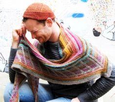 Stephen West's Metalouse Shawl...free pattern on Knitty. by knittybit