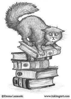 book stack    //  By oddriddle at flickr (Emma Lazauski)