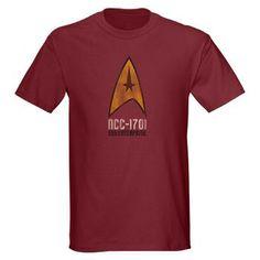 #StarTrek #Mens #Enterprise #T-Shirt £17.50/$25.19 www.creamtees.net