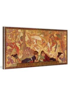 Land of Enchantment by Norman Rockwell (Canvas) on Gilt