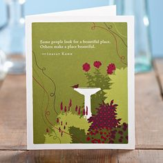 Great cards from Positively Green