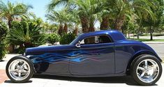 1933 Speedstar Coupe by Bobby Alloway 502 Big Block Chevy Beauty - American-Muscle Cars - RonSusser.com