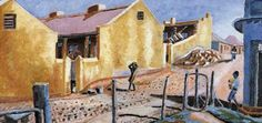 Gerald Sekoto's Yellow Houses