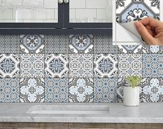 Add a splash of colour to kitchen backsplash or spice up your staircase riser or a facelift on your bathroom wall, instantly transform your home by simply peel and stick. Home decor trend is changing faster than you can hack the wall! Tile decals is the best solution to give your outdated kitchen/bath a fresh look without messy renovation. It saves a hole in your wall as well as a hole in your pocket! Perfect for home renters.   ❤ PRODUCT QUALITY ❤ ➡We use only premium quality self-adhes...