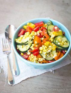 Super Yummy raw salad + the amazing health benefits of cucumbers!!