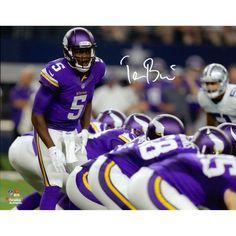 "Teddy Bridgewater Minnesota Vikings Fanatics Authentic Autographed 11"" x 14"" At the Line Photograph"