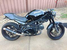 Ducati 600, Moto Ducati, Ducati Cafe Racer, Cafe Racer Bikes, Cafe Racers, Ducati Monster 750, Ducati Monster Custom, Ducati Scrambler Custom, Modern Cafe Racer