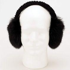 Mens Or Womens Genuine Rabbit Fur Earmuffs By Arielle Nice