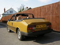 1985 Skoda Rapid 120G Coupe Convertible > with a 1174cc engine and a 4 speed gearbox and has covered a GENUINE 33,000 MILES from new