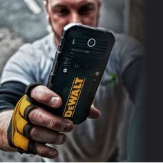 Dewalt Rugged Smartphone Can Take An Extreme Beating Dewalt Tools, Metal Chop Saw, Improvise Adapt Overcome, Engineering Tools, Carpentry Tools, Waterproof Phone, Tool Storage, Trailer Storage, Android Smartphone