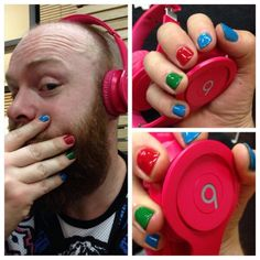 Megan Ostrander - Men/Boys wearing nail polish is not typical in today's society.