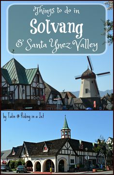 Visiting the Danish village and its surrounding towns in Santa Barbara County, California? Here's a list of fun things to do in Solvang and Santa Ynez Valley.