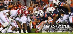 2016 NCAA College Football Week 13 Expert Picks and Predictions