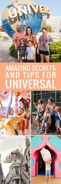 Planning a trip to Universal Studios Orlando? Check out our Amazing Secrets and Tips for Universal Studios Orlando to make it the best trip for a family of all ages!