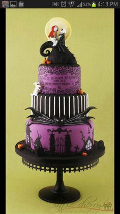 ナイトメアビフォアクリスマスケーキの画像 プリ画像