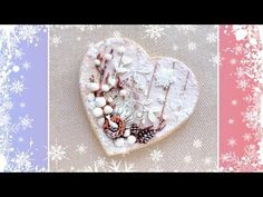 Winter Fairy Tale Cookie Card❄️❄️❄️ - YouTube
