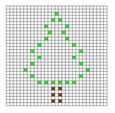 Ravelry: Christmas Tree Bobble Chart pattern by Kari Philpott Crochet Puntada Bobble, Bobble Stitch Crochet Blanket, Baby Blanket Crochet, Graph Crochet, Crochet Square Patterns, Crochet Blanket Patterns, Stitch Patterns, Christmas Crochet Blanket, Crochet Tree