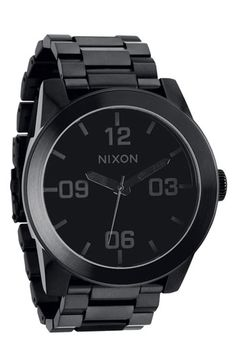 Nixon 'The Corporal' Bracelet Watch available at #Nordstrom
