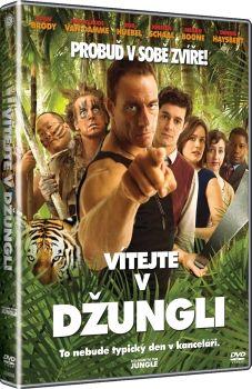 Film Vítejte v džungli na DVD. Welcome to the Jungle dvd.