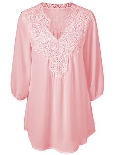 2016 bordado manera de las mujeres del cordón del ganchillo de manga larga de gasa primer golpe blusa de la camisa de la mujer blusas