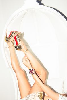 Kick up your heels. http://www.thecoveteur.com/erica-pelosini-part-ii/