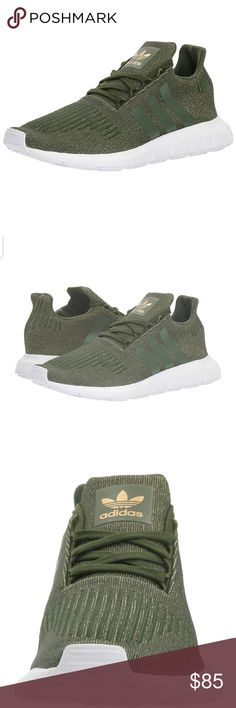 66200e19f6ac7 NIB Women s size 11 ADIDAS SWIFT RUN W OLIVE GREEN ADIDAS SWIFT RUN W OLIVE  GREEN