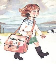 Katie Morag, my favourite book as a child.