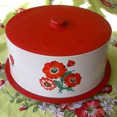 Cake Carriers - used between 1930's and 1950's.
