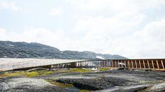 Galería de Dorte Mandrup Arkitekter diseñará un pabellón mirador en Groenlandia  - 5